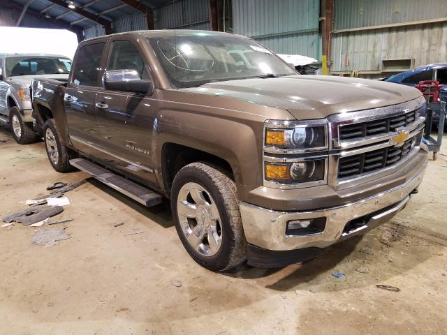 Salvage cars for sale from Copart Greenwell Springs, LA: 2014 Chevrolet Silverado