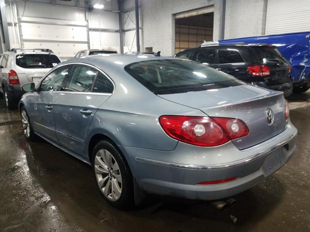 2010 VOLKSWAGEN CC SPORT - Right Front View