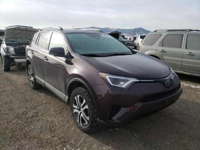 Salvage cars for sale from Copart Helena, MT: 2018 Toyota Rav4 LE