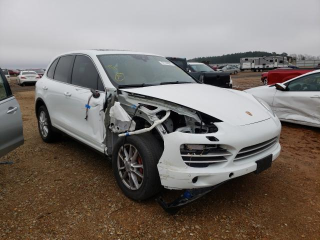Salvage cars for sale from Copart Longview, TX: 2014 Porsche Cayenne