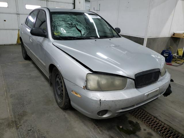 Hyundai Elantra salvage cars for sale: 2003 Hyundai Elantra