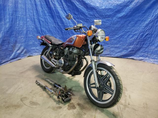 Salvage cars for sale from Copart Finksburg, MD: 1982 Honda CB450 SC