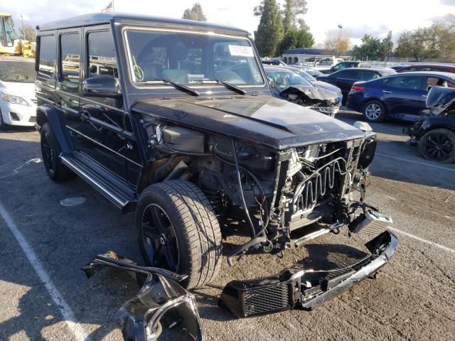 Salvage cars for sale from Copart Van Nuys, CA: 2018 Mercedes-Benz G 550