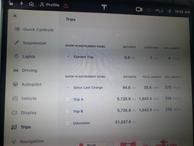 2017 Tesla MODEL S   Vin: 5YJSA1E21HF183993
