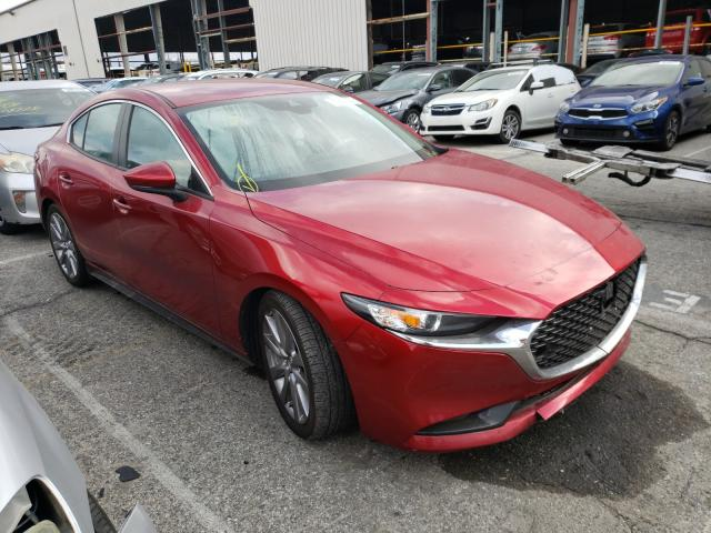 Mazda salvage cars for sale: 2019 Mazda 3 Preferre