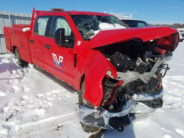 Salvage cars for sale from Copart Avon, MN: 2018 Ford F250 Super