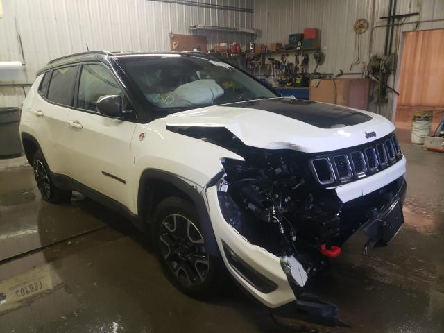 Salvage cars for sale from Copart Avon, MN: 2019 Jeep Compass TR