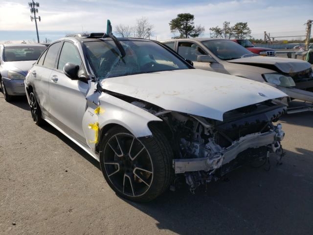 Vehiculos salvage en venta de Copart Brookhaven, NY: 2017 Mercedes-Benz C 43 4matic