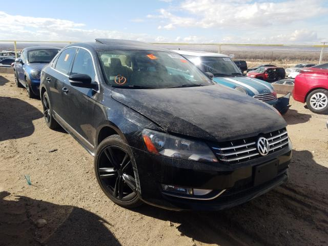 Salvage cars for sale from Copart Albuquerque, NM: 2014 Volkswagen Passat SE