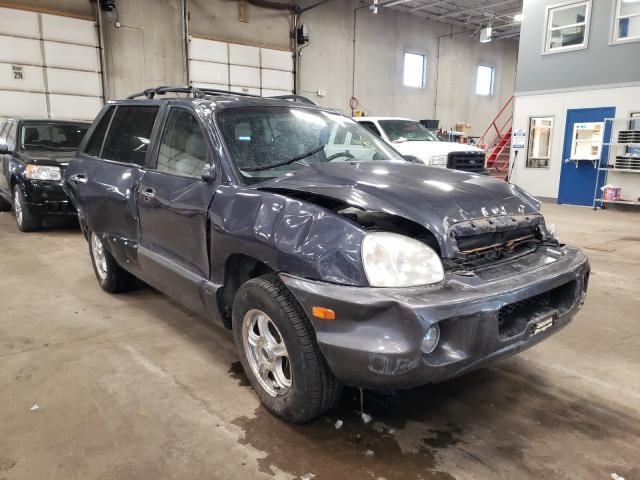 Hyundai Santa FE salvage cars for sale: 2006 Hyundai Santa FE