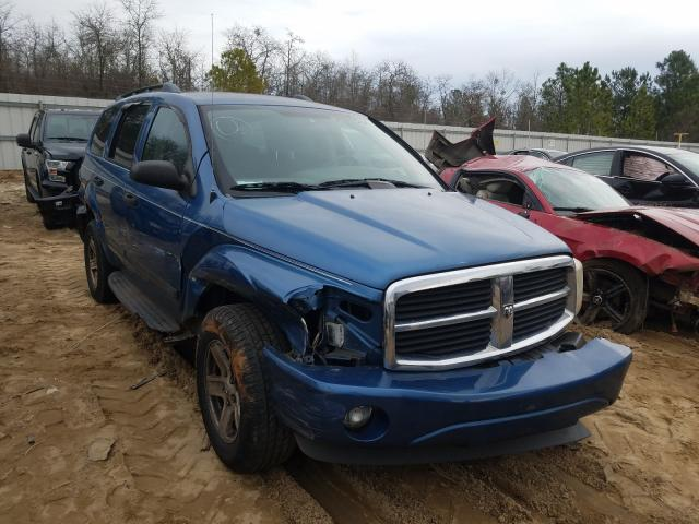 Salvage cars for sale from Copart Gaston, SC: 2005 Dodge Durango SL