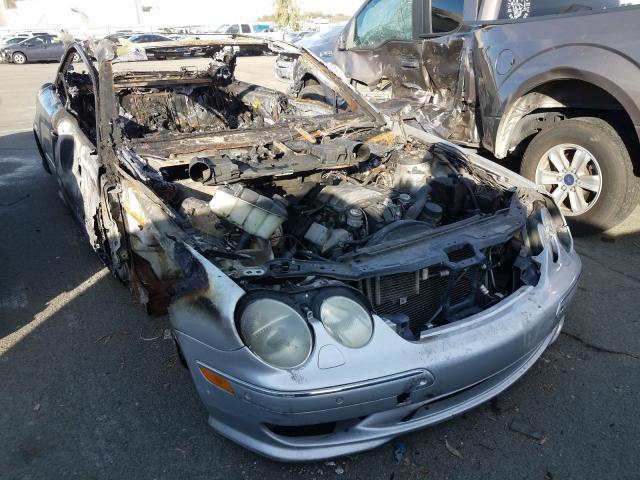Carros salvage para piezas a la venta en subasta: 2002 Mercedes-Benz CL 500