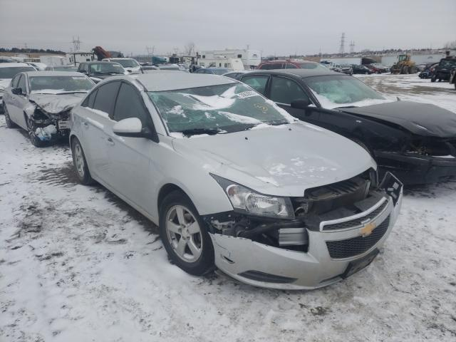 Salvage cars for sale from Copart Billings, MT: 2014 Chevrolet Cruze LT