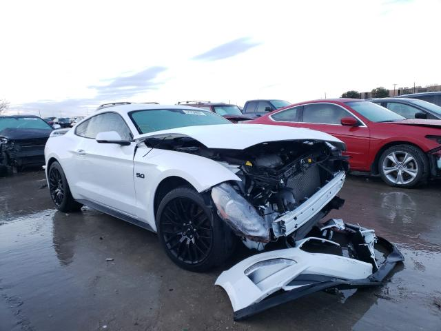 Salvage cars for sale from Copart Grand Prairie, TX: 2019 Ford Mustang GT