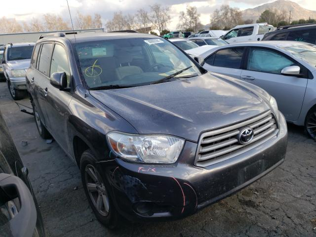 Salvage cars for sale from Copart Colton, CA: 2008 Toyota Highlander