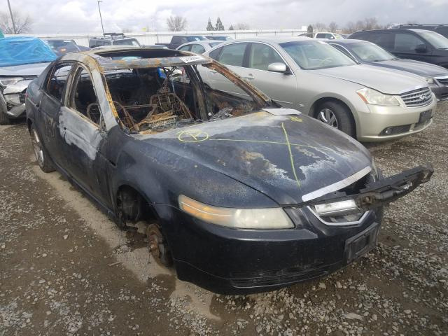 Acura salvage cars for sale: 2004 Acura TL