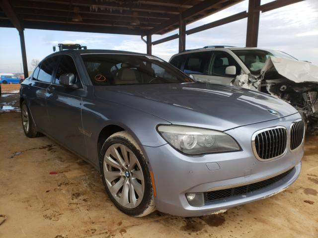 Salvage cars for sale from Copart Tanner, AL: 2011 BMW 750 LI
