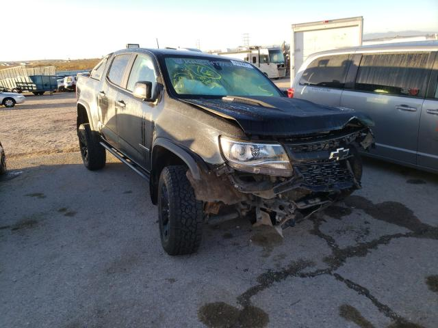Salvage cars for sale from Copart Tucson, AZ: 2018 Chevrolet Colorado Z