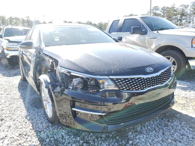 Salvage cars for sale from Copart Ellenwood, GA: 2016 KIA Optima EX