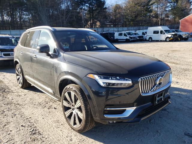 Volvo salvage cars for sale: 2021 Volvo XC90 T6 IN