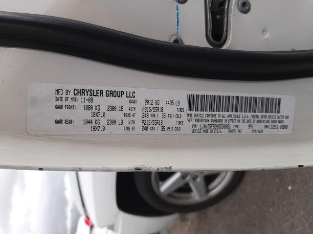2010 Jeep COMPASS | Vin: 1J4NT5FB3AD530051