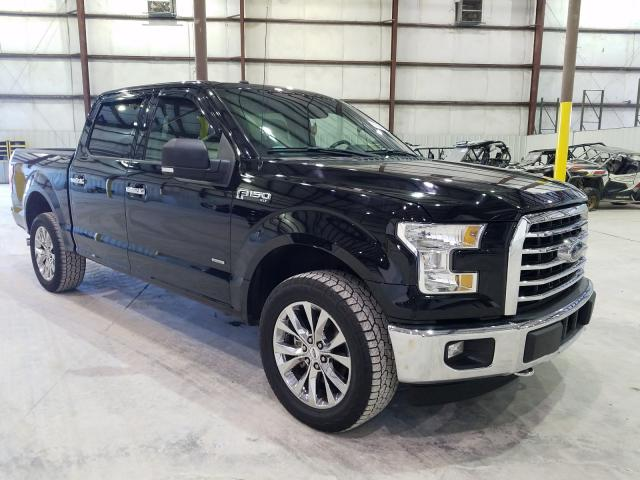 Salvage cars for sale from Copart Lawrenceburg, KY: 2017 Ford F150 Super