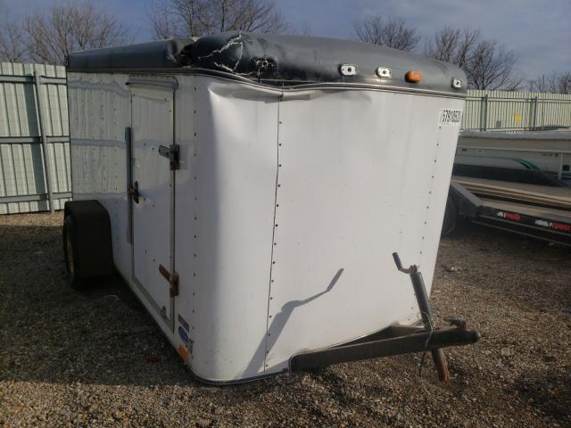 Salvage cars for sale from Copart Pekin, IL: 1995 United Express Utility Trailer