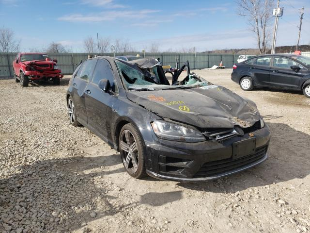 Salvage cars for sale from Copart Kansas City, KS: 2016 Volkswagen Golf R