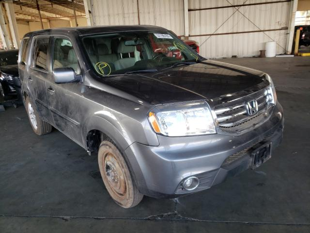 Salvage cars for sale from Copart Van Nuys, CA: 2013 Honda Pilot EXL