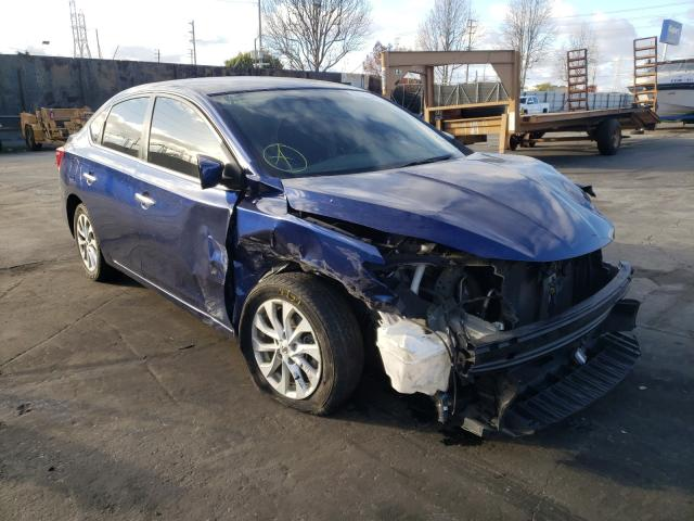 Nissan salvage cars for sale: 2018 Nissan Sentra S