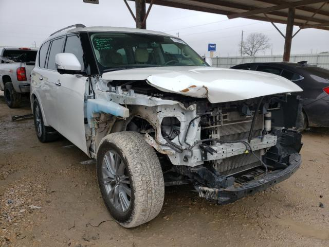 Salvage cars for sale from Copart Temple, TX: 2018 Infiniti QX80 Base