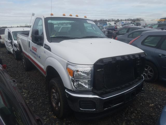 Salvage cars for sale from Copart Pennsburg, PA: 2016 Ford F250 Super