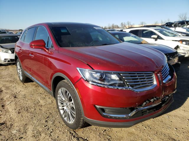 Salvage cars for sale from Copart Bridgeton, MO: 2018 Lincoln MKX Reserv