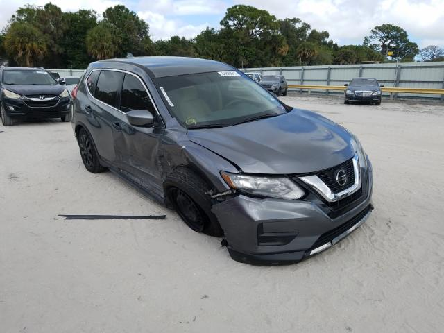 Salvage cars for sale from Copart Fort Pierce, FL: 2017 Nissan Rogue S
