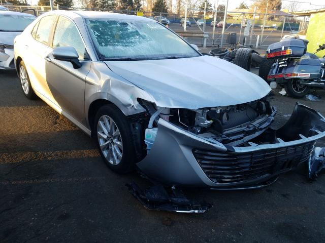 Salvage cars for sale from Copart Denver, CO: 2019 Toyota Camry L