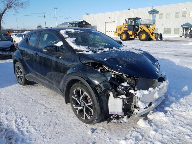 Salvage cars for sale from Copart Montreal Est, QC: 2019 Toyota C-HR XLE