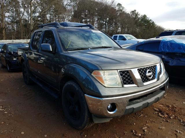 Salvage cars for sale from Copart Austell, GA: 2007 Nissan Frontier C