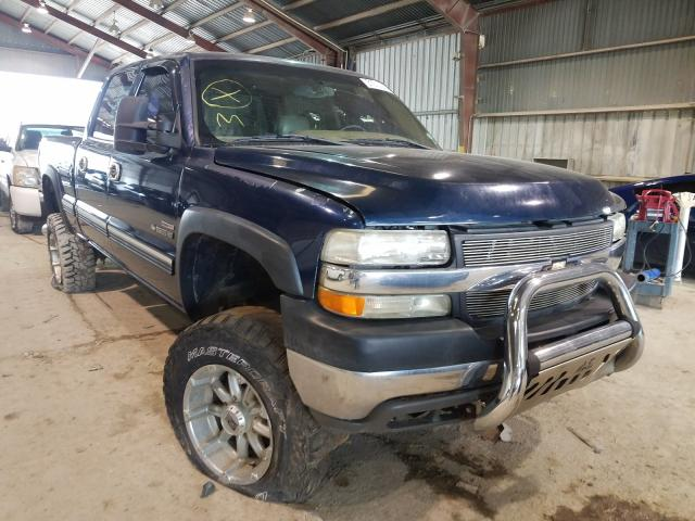 Salvage cars for sale from Copart Greenwell Springs, LA: 2002 Chevrolet Silverado