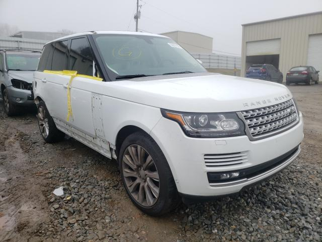 Salvage cars for sale from Copart Gainesville, GA: 2015 Land Rover Range Rover