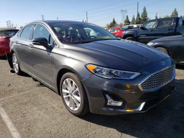 Salvage cars for sale from Copart Rancho Cucamonga, CA: 2020 Ford Fusion Titanium