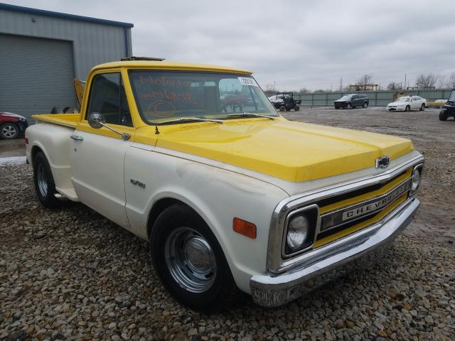 Salvage cars for sale from Copart Kansas City, KS: 1970 Chevrolet C10