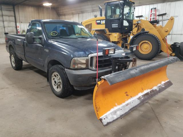 Ford salvage cars for sale: 2003 Ford F250 Super