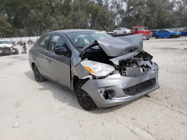 Salvage cars for sale from Copart Ocala, FL: 2020 Mitsubishi Mirage G4