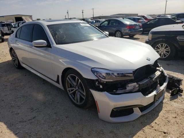Salvage cars for sale from Copart San Antonio, TX: 2018 BMW 740 XE