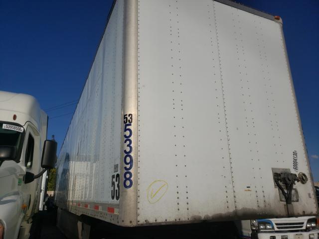 Utility DRY Van salvage cars for sale: 2007 Utility DRY Van