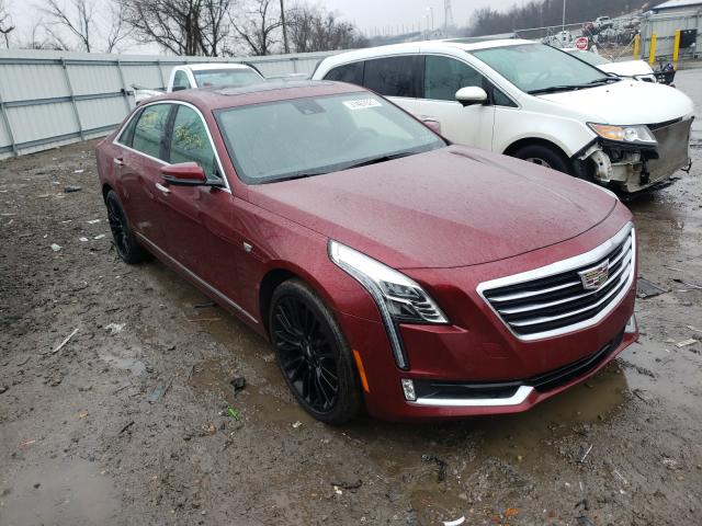 Salvage cars for sale from Copart West Mifflin, PA: 2017 Cadillac CT6 Premium
