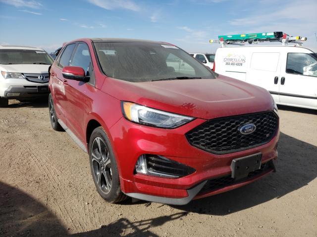 Vehiculos salvage en venta de Copart Brighton, CO: 2020 Ford Edge ST