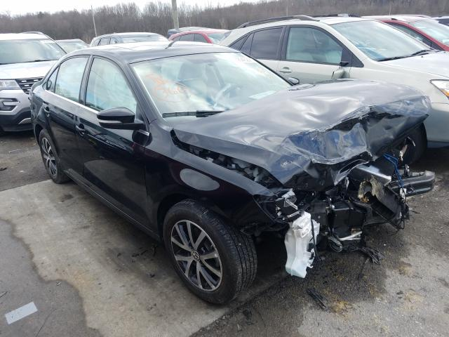 Salvage cars for sale from Copart Lawrenceburg, KY: 2017 Volkswagen Jetta SE