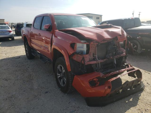 Salvage cars for sale from Copart San Antonio, TX: 2016 Toyota Tacoma DOU