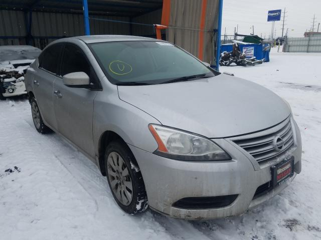 Nissan Sentra S salvage cars for sale: 2015 Nissan Sentra S